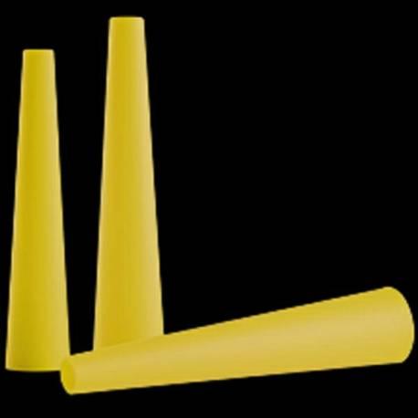 Cono de señalización Amarillo para Linternas P7,T7,M7,MT7,M7R y L7