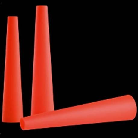 Cono de señalización Rojo para Linternas P7,T7,M7,MT7,M7R y L7