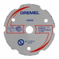 DREMEL Disco de corte de carburo multiusos Ø 77 mm S500