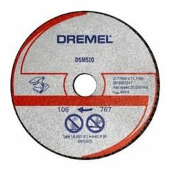 DREMEL Disco de corte metal Ø 77 mm S510