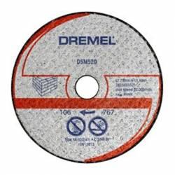 DREMEL Disco de corte mampostería Ø 77 mm S520