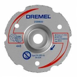 DREMEL Disco de corte a ras multiusos Ø 77 mm S600