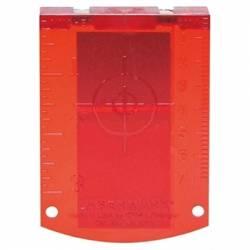 Placa reflectora de medida Bosch profesional (roja)