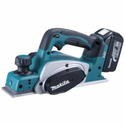Cepillo 82mm a batería de Litio 18V Makita BKP180RFE