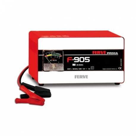 Cargador de baterías para vehículos de 12 Voltios.Manual.