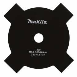 Disco Makita B-14118 de 4 dientes 230 mm x 25,4 mm