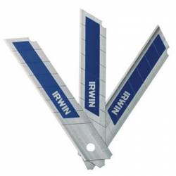 Cuchillas retráctiles bimetálicas Irwin 10507103 18 mm