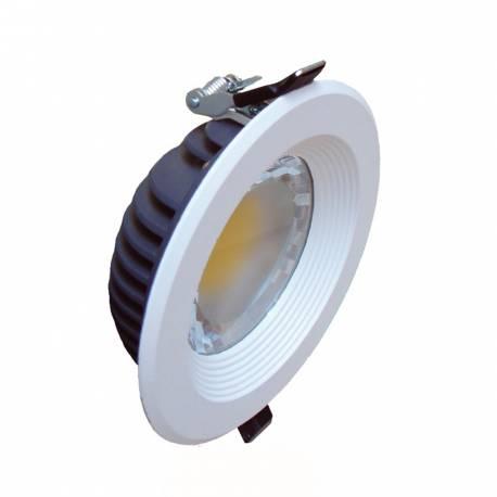 Downlight Led blanco Maslighting 8w 3000K 160º 680 Lm IP23