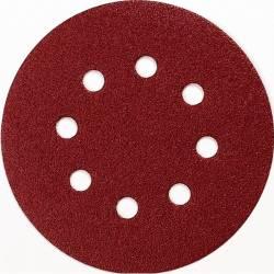 Disco de lija 125 mm Makita perforado con velcro G180 10 uds. P-43583