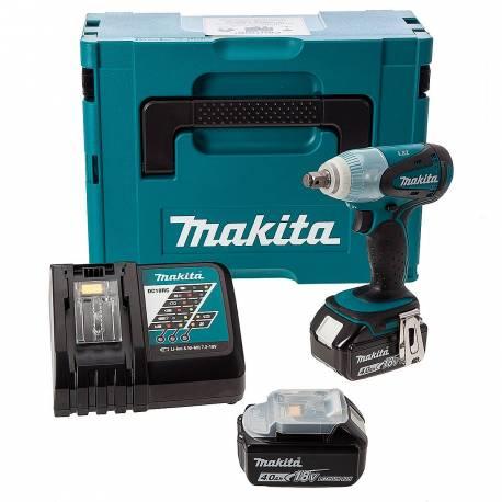 Makita DTW251RMJ Llave de impacto a batería 18V Litio 230 Nm Makpac
