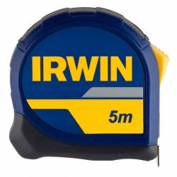 Flexometro Irwin 5 m x 19 mm 10508053 con clip para cinturón