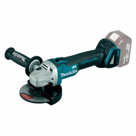 Miniamoladora Makita DGA504Z 18V Litio 125mm motor BL