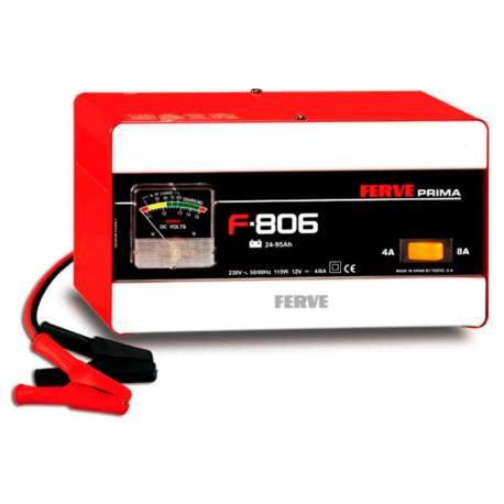 Cargador Ferve PRIMA F-806 para baterías de plomo de 12V