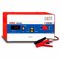 Cargador Ferve DUAL F-2330 para baterías de plomo 12-24V