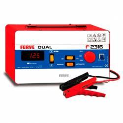 Cargador Ferve DUAL F-2316 para baterías de plomo 12-24V y 105-360 Ah