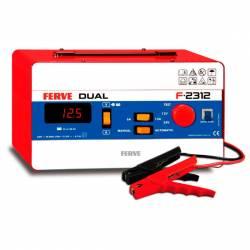 Cargador Ferve DUAL F-2312 para baterías de plomo 12-24V y 105-360 Ah