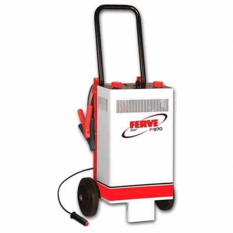 Cargador Ferve FAST F-970 para baterías de plomo 12-24V