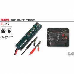 Ferve F-85 Tester de baterías y alternadores de12 V