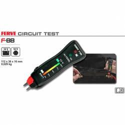 Ferve F-88 Tester digital para baterías y alternadores de12 V