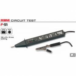 Ferve F-91 Tester para baterías, alternadores, dinamos y reguladores 12V