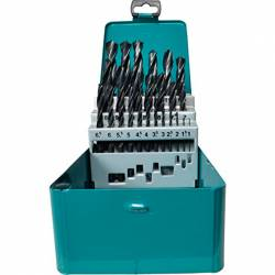 Set de 19 brocas para metal HSS-R Makita D-54081