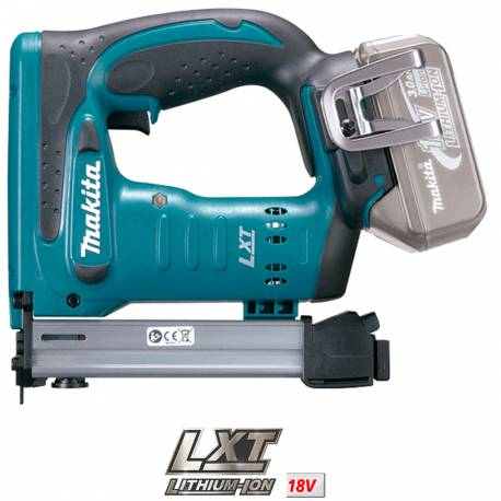 Makita DST221Z Grapadora a batería 18V Litio grapa 10 mm