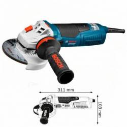 Miniamoladora Bosch GWS 17-125 Inox 1700 W 2200-7500 rpm