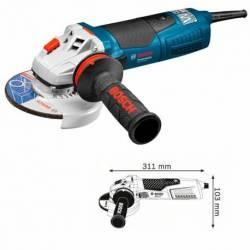 Miniamoladora Bosch GWS 19-125 CI 1.900 W 11.500 rpm.