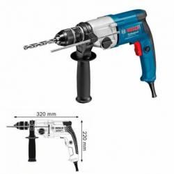 Taladro Bosch GBM 13-2 RE 750 W. 0-1.000 - 3.000 rpm.