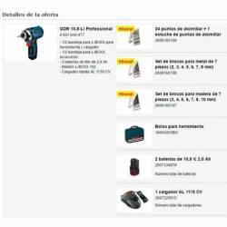 Atornillador de impacto Bosch GDR a batería 10