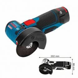 Amoladora Bosch GWS a batería 10