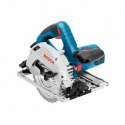 Sierra Circular Bosch GKS 55+GCE 1350 W Disco de 165 mm