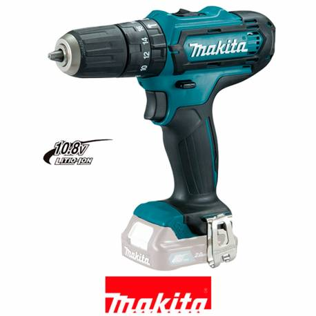 HP331DZ Taladro percutor Makita a batería 10,8V Litio