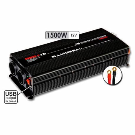 Inverter Ferve F-715 12 V DC 220-240 V 1500 W onda sinusoidal puro