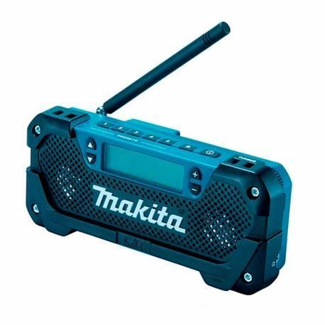 MR052 Radio de trabajo estéreo para obra Makita a batería Litio 10,8V