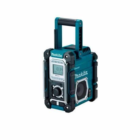 DMR108 Radio de trabajo Makita con Bluetooth baterías de 7.2 a 18V Li