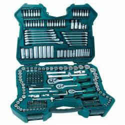 Maletín de llaves combinado Manesmann M98430 con 215 piezas
