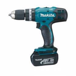 DHP453RFE Taladro Percutor Makita 18V 0 - 1.300 Rpm 42 Nm