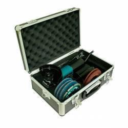 9557NBRX2 Miniamoladora Makita de 115 mm con accesorios