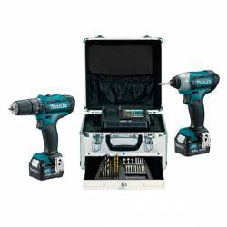 CLX202SMX1 Kit Makita HP331D+TD110D 10,8V Litio 4,0Ah