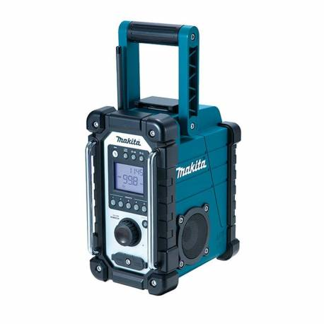 DMR107 Radio de trabajo Makita para baterías de 7.2 a 18V Litio-ion