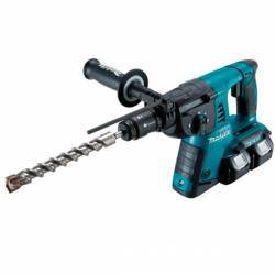 Makita DHR264PM4 Martillo a batería 18Vx2 Litio 4,0Ah. SDS-PLUS 26 mm