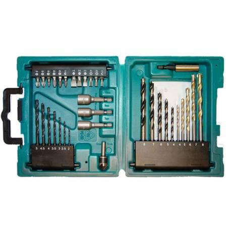 Makita D-36980 maletín de accesorios 34 piezas