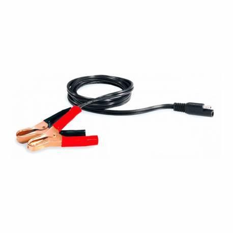 Ferve F-217 Cable conexión con pinzas para cargadores Automatic F-2106 y F-2201