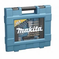 D-31778 Maletín de accesorios Makita 104 pcs