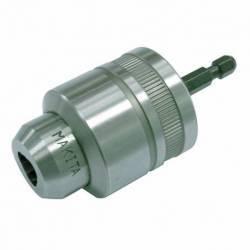 """763198-1 Portabrocas automático 1/4"""" hexagonal. con adaptador 1,5 - 10 mm Makita"""