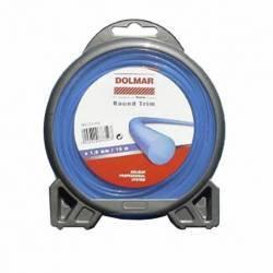 Hilo de nylon Dolmar 369224808 Round Trim 1.6 mm x 15 m
