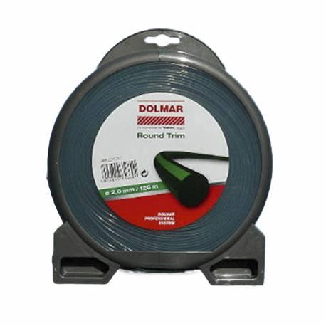 Hilo de nylon Dolmar 369224791 Round Trim 2.0 mm x 126 m