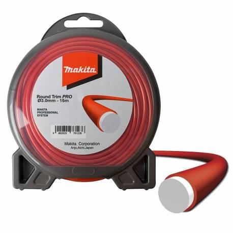 Hilo de nylon Dolmar 369224798 Round Trim Pro 3.0 mm x 15 m