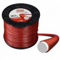 Hilo de nylon Dolmar 369224801 Round Trim Pro 3.0 mm x 279 m